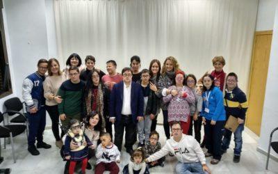 Visita de Pablo Pineda