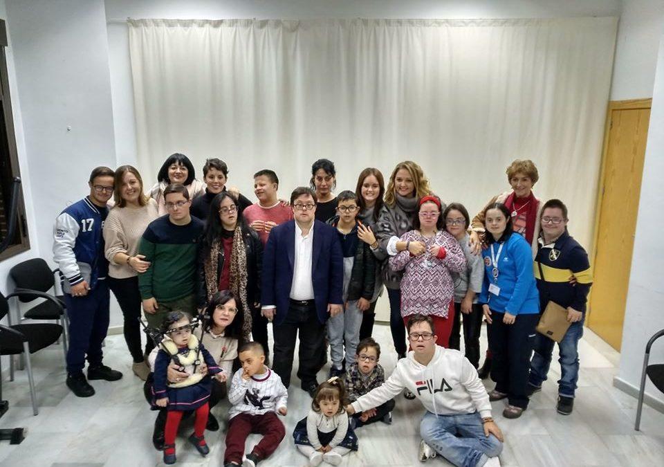 Pablo Pineda visita Down Ceuta